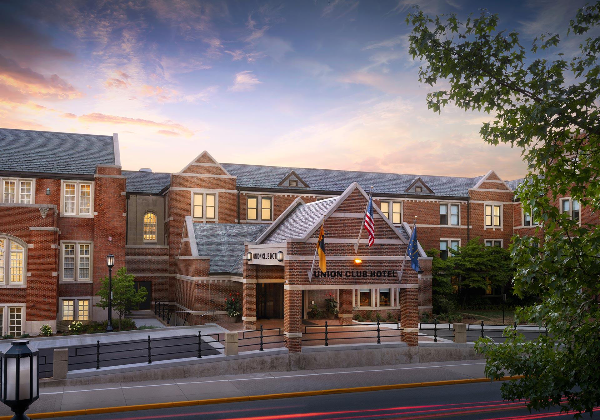 Shot of Purdue Memorial Union