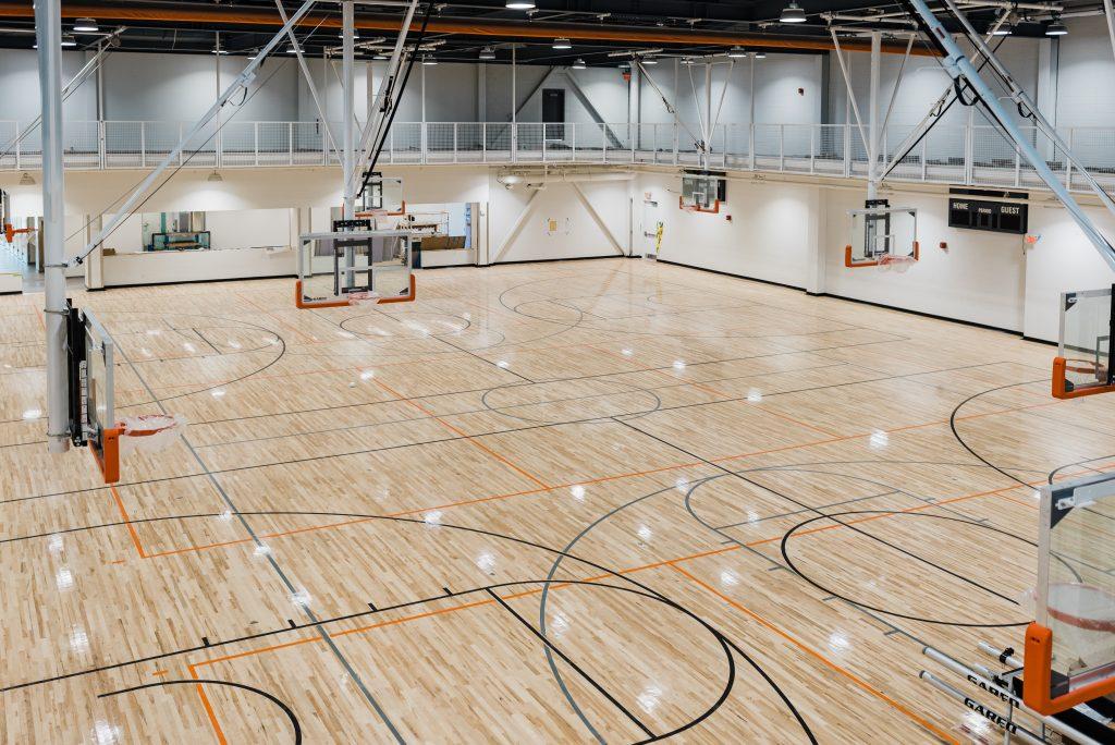 Basketball and Pickleball Court