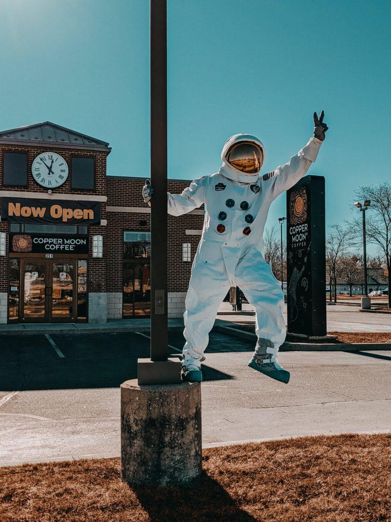 Copper Moon Coffee in West Lafayette, Indiana